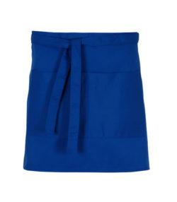 DELANTAL corto bolsillo   azulina unisex