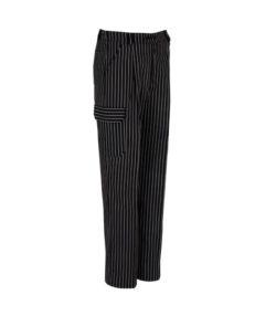 PANTALON cremallera 4 bolsillos 1/2 cintura elastica rayas gris unisex